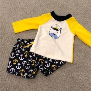 NWOT Baby boy swimsuit 3-6 months